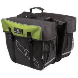 M-Wave Mess Amsterdam 122805 2 részes táska - fekete/zöld - 30 l