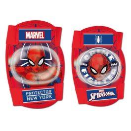 Csepel térd és könyökvédő pókember piros gyerek
