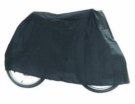 Kerékpárvédő ponyva - sötétszürke