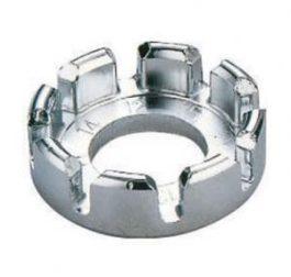 Küllőkulcs kerek acél - ezüst