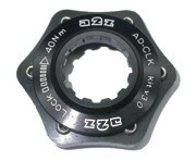A2Z AD-CLK centerlock adapter [ezüst]