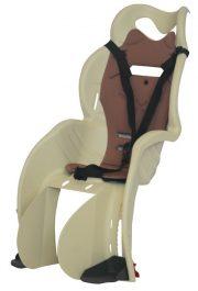 HTP Design Sanbas gyerekülés csomagtartóra - krém/barna