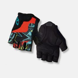 GIRO Bravo Jr kesztyű - fekete/piros - M
