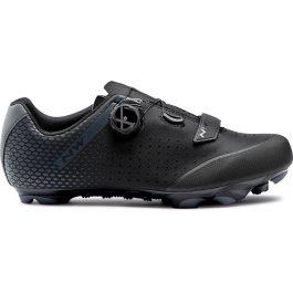 Northwave ORIGIN PLUS 2 WIDE MTB cipő - fekete/antracit - 45