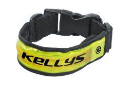Kellys Sparky Pro fényvisszaverő karszalag - neonsárga