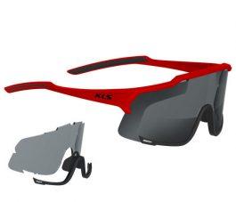 Kellys DICE sportszemüveg - fényes piros