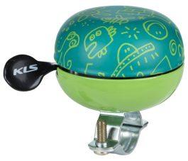 KELLYS Bell 60 Doodles csengő - zöld