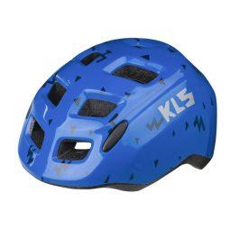 Kellys ZIGZAG gyermek kerékpáros sisak - kék (45-49 cm)