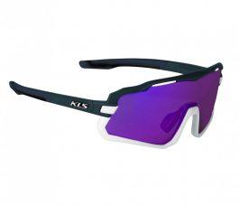 Kellys Cyclone FF sportszemüveg - sötétkék/lila