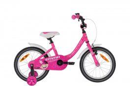 """KELLYS Emma gyermek 16"""" kerékpár - pink (2020)"""