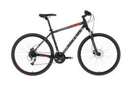 KELLYS Cliff 90 férfi cross kerékpár - fekete/piros - S (2021)