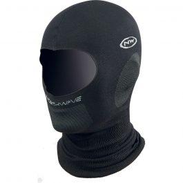 Northwave Balaclava Plus téli maszk - fekete
