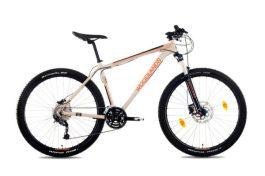 """Csepel Woodlands Pro 2.1 férfi 27.5"""" MTB kerékpár - homok - M"""