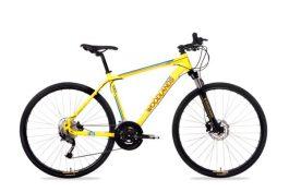 Csepel Woodlands 2.1 férfi cross kerékpár - sárga - M
