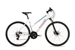 Csepel Woodlands Cross 1.1 700C női cross kerékpár - fehér - 17