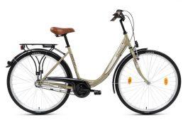 Csepel Budapest B 26 N3 női városi kerékpár - drapp