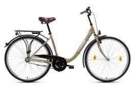 Csepel Budapest B 26 7sp női városi kerékpár - drapp (2019)