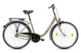 Csepel Budapest B 28 N3 női városi kerékpár - drapp