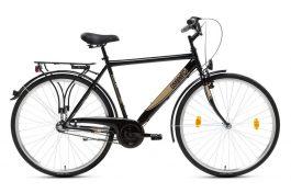 Csepel Budapest GR férfi városi kerékpár - fekete - 21