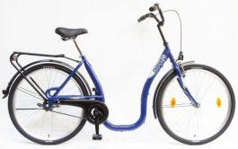 Csepel Budapest C 26 GR női városi kerékpár - kék