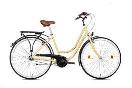 """Csepel WEISS MANFRÉD N3 női 28"""" városi kerékpár - krém"""