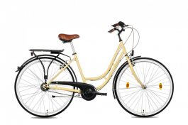 """Csepel WEISS MANFRÉD N7 női 28"""" városi kerékpár - krém"""