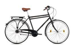 """Csepel WEISS MANFRÉD N7 férfi 28"""" városi kerékpár - fekete"""