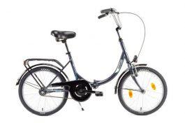 Csepel CAMPING 20 GR összecsukható camping kerékpár - fekete