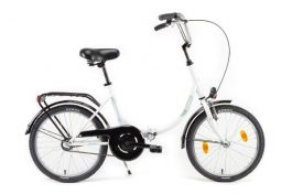 Csepel CAMPING 20 GR összecsukható camping kerékpár - fehér