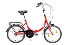 Csepel CAMPING 20 N3 összecsukható kerékpár - piros