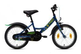 Csepel Drift 16 gyermek kerékpár - kék - szarvasos (2020)