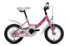 Csepel Lily 12 gyermek kerékpár - pink unikornis (2020)