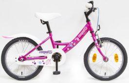 Csepel Lily 16 GR gyermek kerékpár - ciklámen/unikornis (2020)