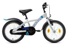 Csepel Police 16 GR gyermek kerékpár - fehér (2020)