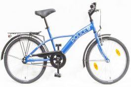 Csepel Police 20 GR gyermek kerékpár - kék (2020)