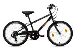 Csepel Mustang 20 6sp gyermek kerékpár - fekete (2020)