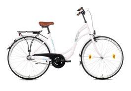 Csepel Velence női városi kerékpár - fehér