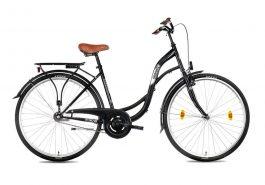 Csepel Velence N3 női városi kerékpár - fekete