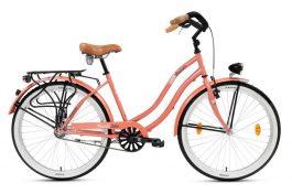 """Csepel NEO N3 női cruiser kerékpár - barack - 18"""""""
