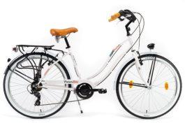 """Csepel NEO 7SP női cruiser kerékpár - fehér - 18"""""""