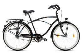 """Csepel NEO GR férfi cruiser kerékpár - fekete - 18"""""""