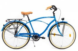 """Csepel NEO GR férfi cruiser kerékpár - kék - 18"""""""