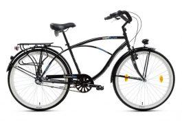 """Csepel NEO N3 férfi cruiser kerékpár - fekete - 18"""""""