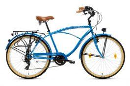 """Csepel NEO 7SP férfi cruiser kerékpár - kék - 18"""""""