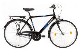 """Csepel LANDRIDER N3 férfi trekking kerékpár - fekete - 19"""""""