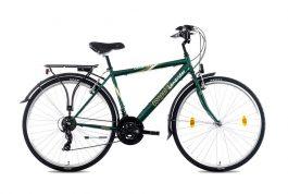 Csepel Landrider 21SP férfi trekking kerékpár - sötétzöld - 19 (2021)