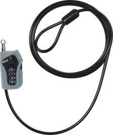 ABUS 205/200 Combiloop lakat - fekete