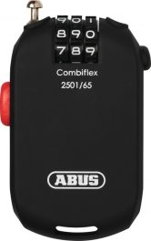 ABUS  2501/65 C/SB Combiflex lakat - fekete