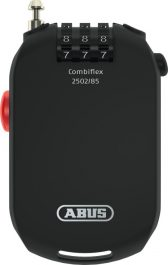 ABUS 2502/85 C/SB Combiflex lakat - fekete