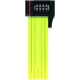 ABUS Bordo uGrip 5700C/80 hajtogatós lakat - lime SH tartóval